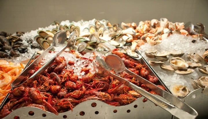 Village Seafood Buffet em Las Vegas
