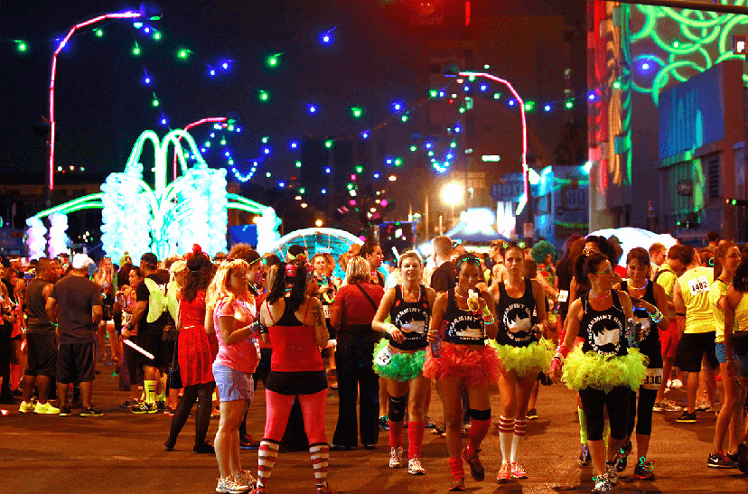 Diversão em Downtown Las Vegas