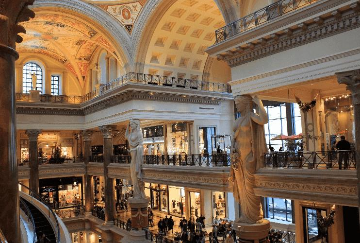 10 dicas incríveis para a hora de comprar em Las Vegas: Galerias em Las Vegas