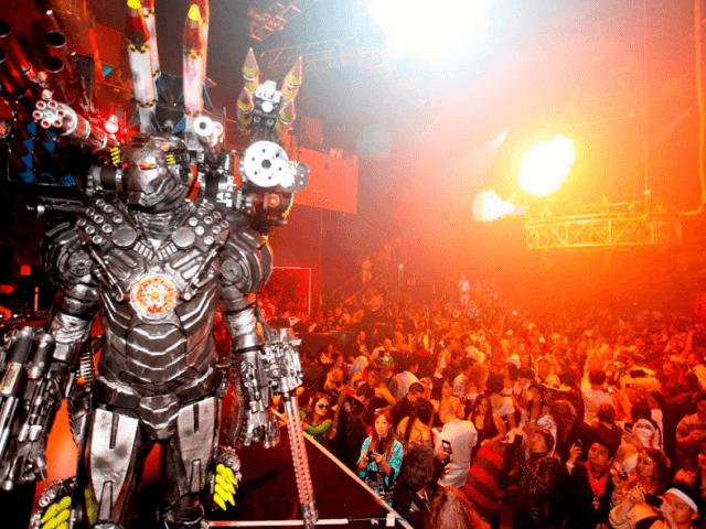 Festas de Halloween em Las Vegas