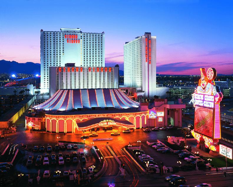 Hotel Circus Circus em Las Vegas