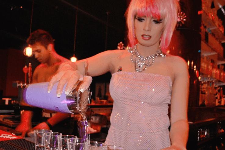 Bar transexual em Las Vegas