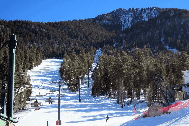 Esqui e Snowboard no Mount Charleston em Las Vegas
