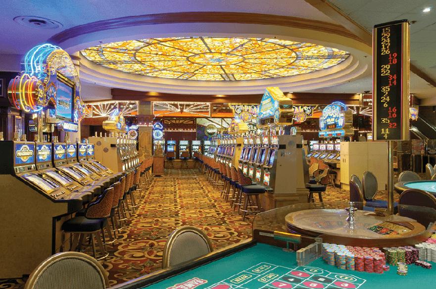 Cassino Sam's Town em Las Vegas