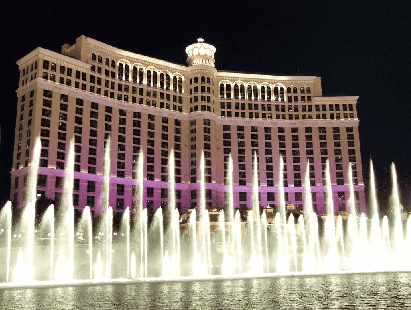 show das fontes em Las Vegas
