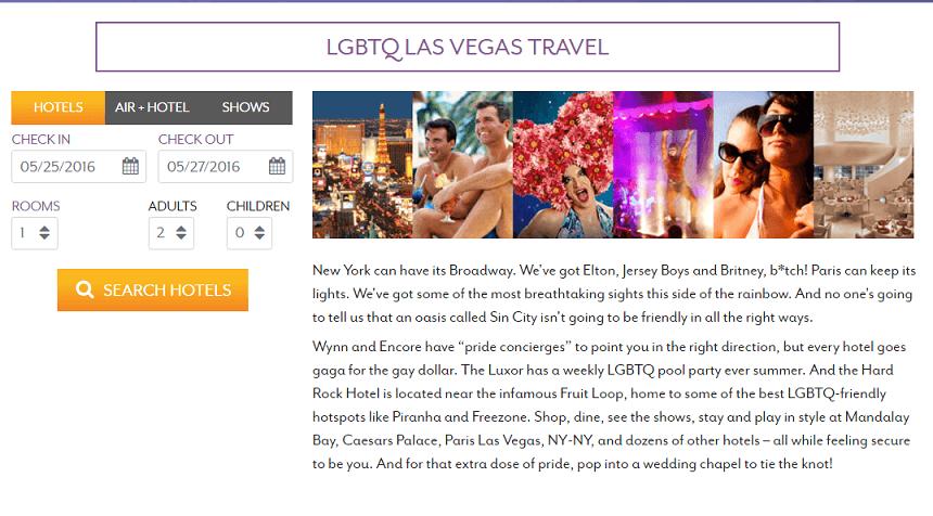 Sites de Las Vegas