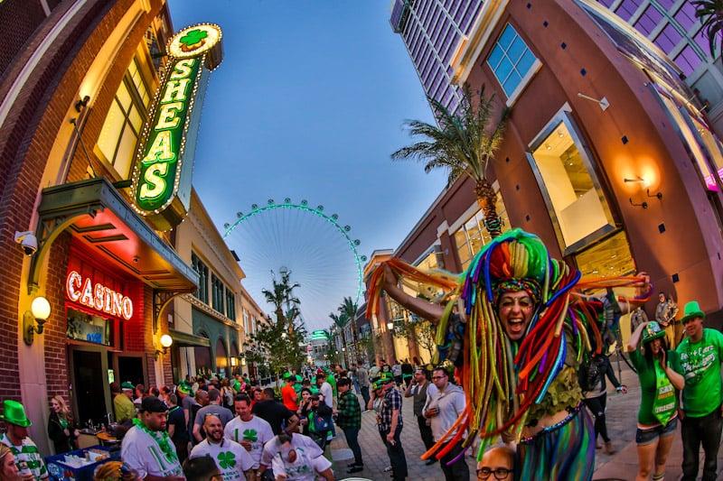 St. Patrick's Day Celebration em Las Vegas