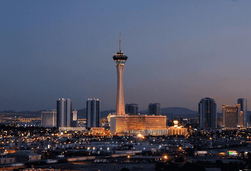 O que fazer à noite no centro em Las Vegas