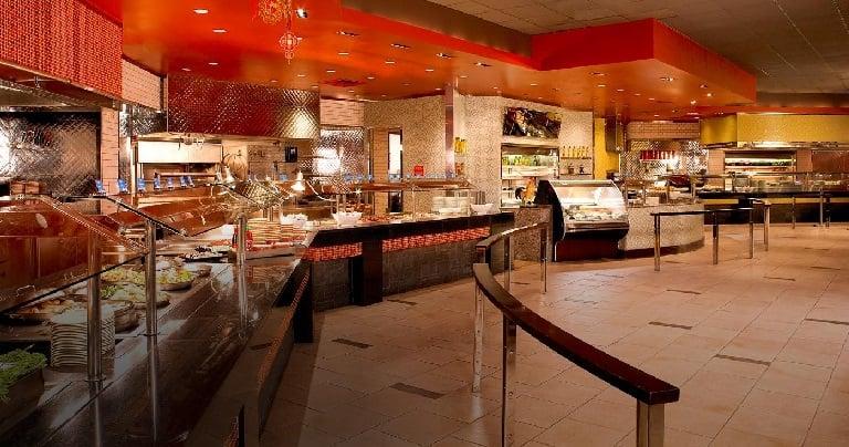 The Buffet no Treasure Island em Las Vegas