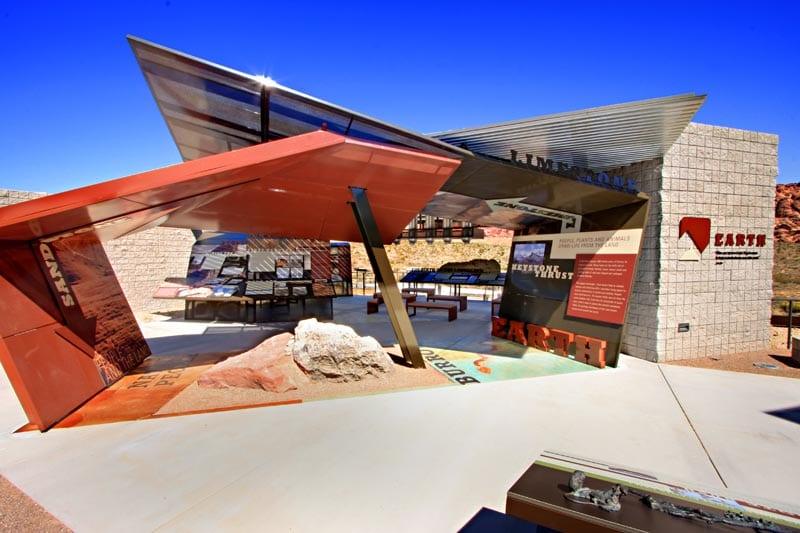 Visitor Center do Red Canyon em Las Vegas
