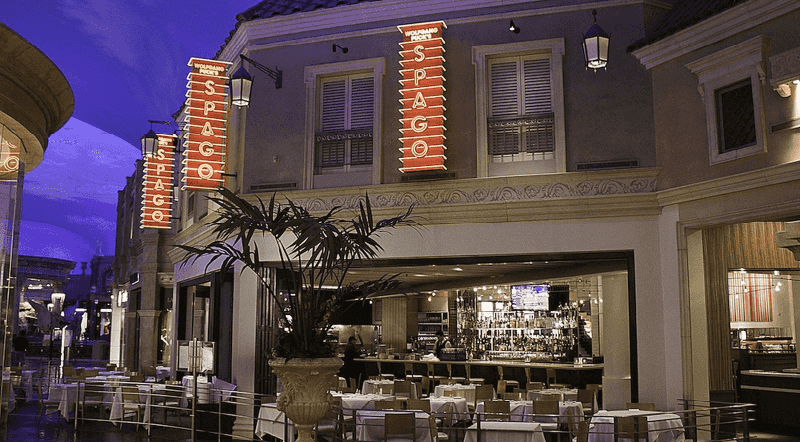 Restaurante Wolfgang Puck's Spago nas Forum Shops em Las Vegas