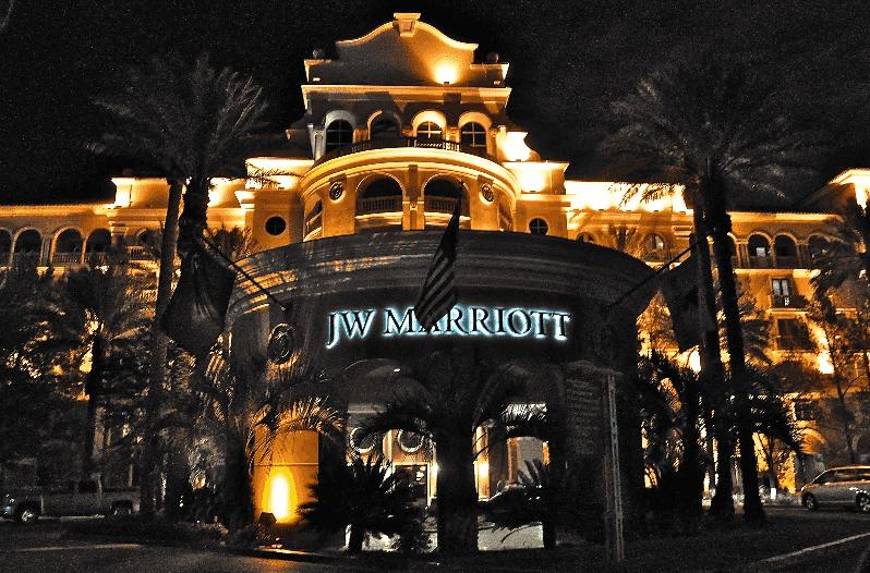 Hotel JW Marriot em Las Vegas