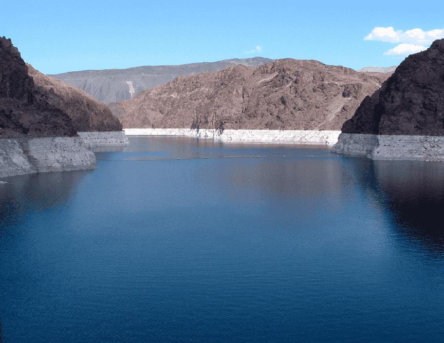 Lago Mead em Las Vegas