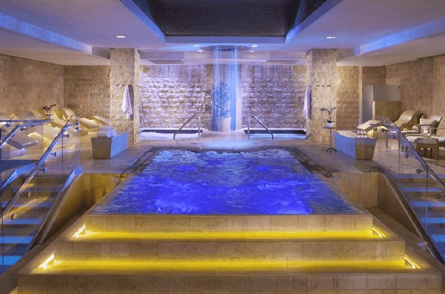 Qua Baths & Spa no Caesar's Palace em Las Vegas