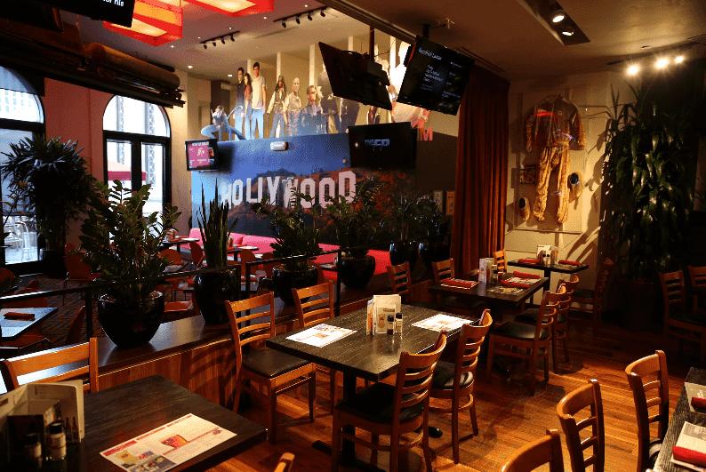 Restaurante Planet Hollywood nas Forum Shops em Las Vegas