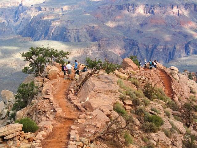 South Kaibab Trail no Grand Canyon