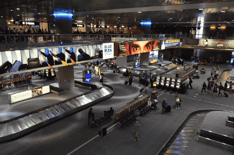 Site do aeroporto de Las Vegas