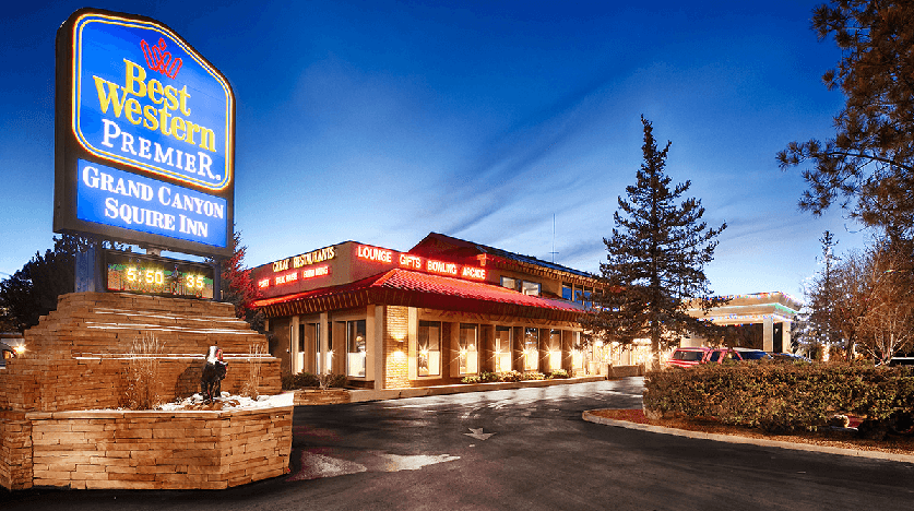 Hotel Best Western Squire Inn no Grand Canyon