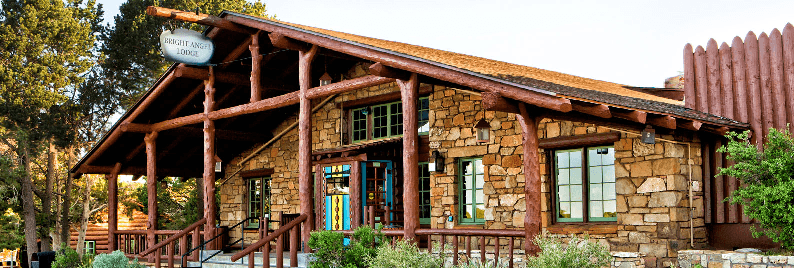 Hotel Bright Angel Lodge perto do Grand Canyon