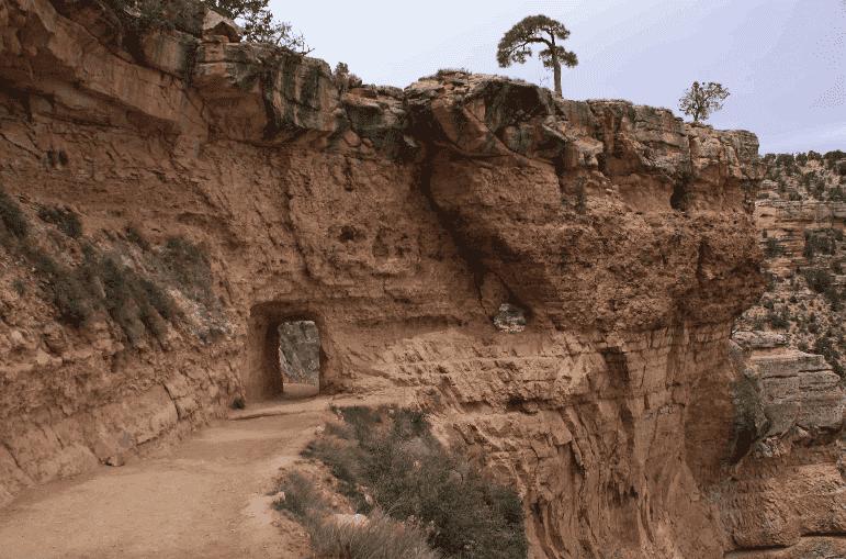 Bright Angel Trail no Grand Canyon