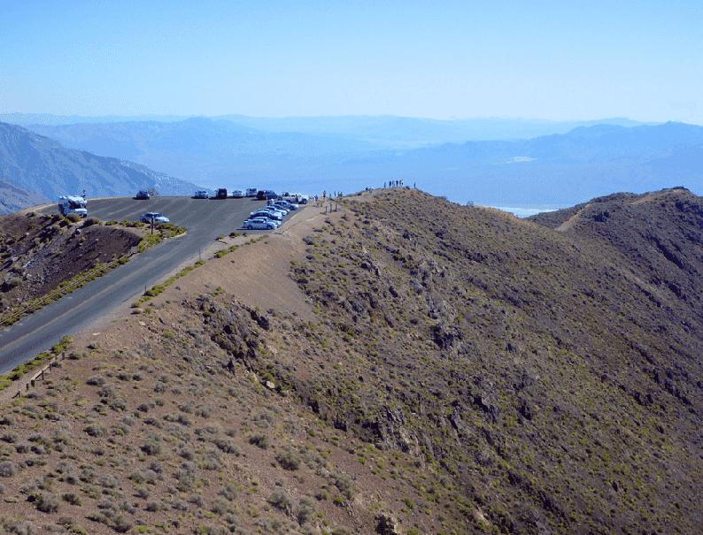 Coffin Peak Trail no Death Valley