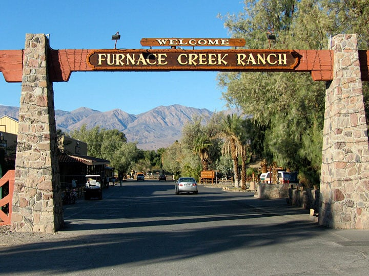Hotel Furnace Creek Ranch em Death Valley