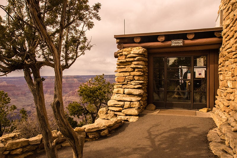 Yavapai Geology Museum no South Rim do Grand Canyon