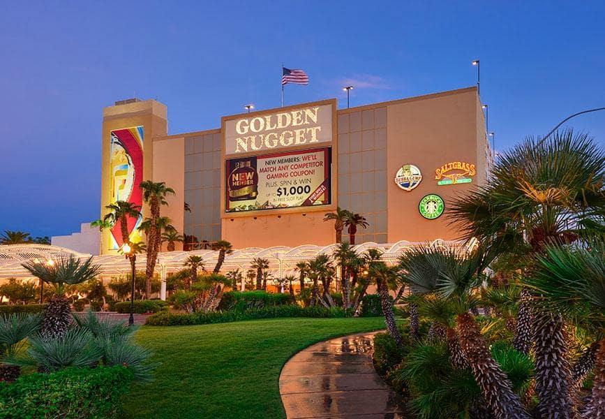 10 hotéis e cassinos na Hoover Dam em Las Vegas: Golden Nugget em Laughlin