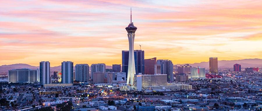 Como ir do aeroporto até o centro de Las Vegas
