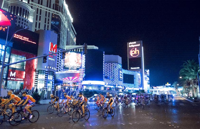 Bicicletas em Las Vegas