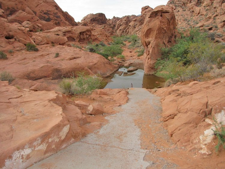 Mouse's Tank no Valley of Fire