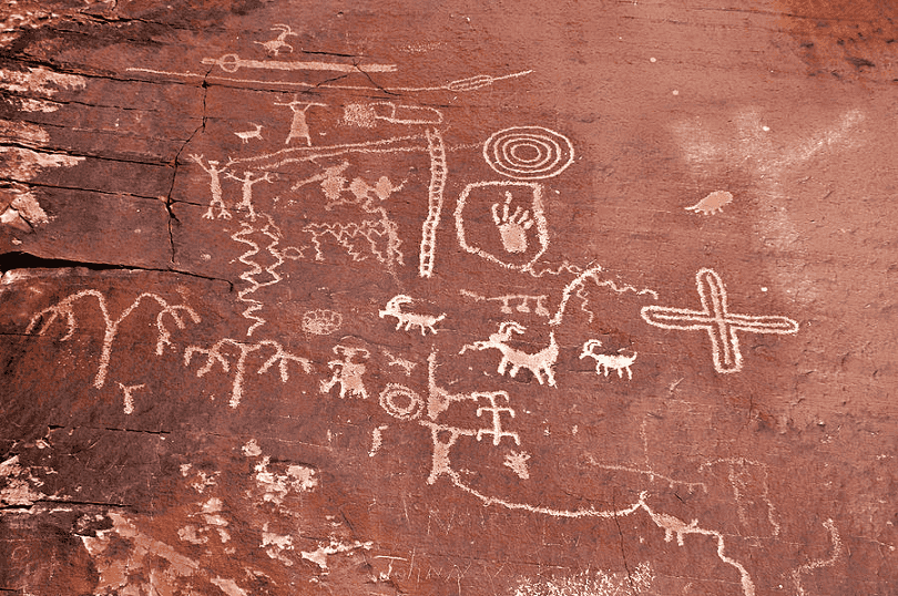 Petroglyph Canyon, Valley of Fire em Las Vegas