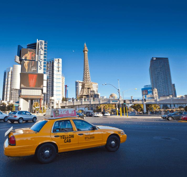 Táxis em Las Vegas