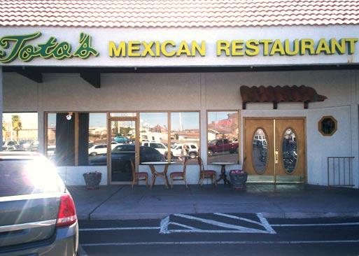 Restaurante Toto's Mexican em Boulder City
