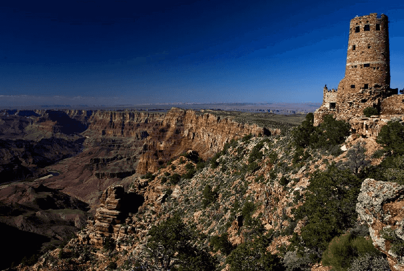 Watch Tower no Desert View no Grand Canyon