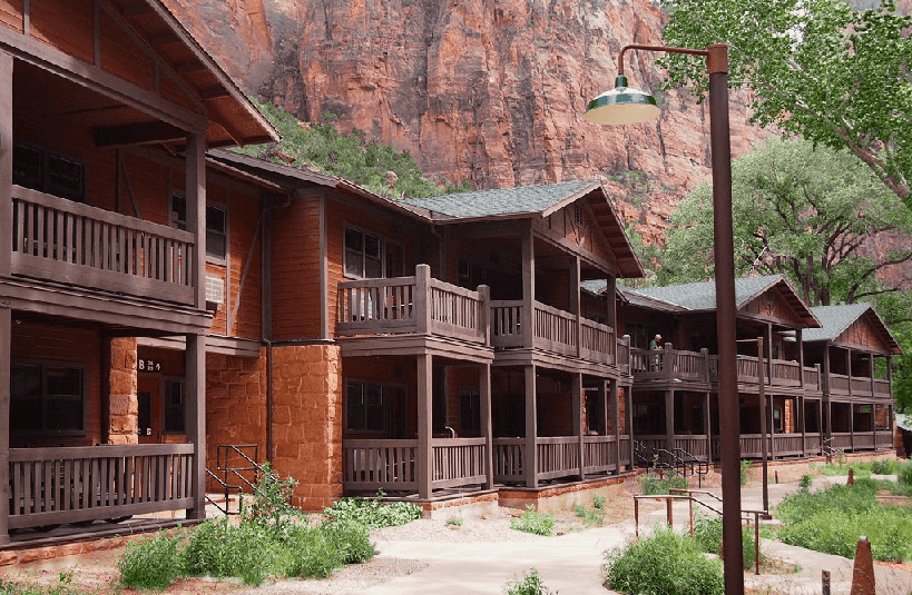 Zion Lodge no Zion National Park