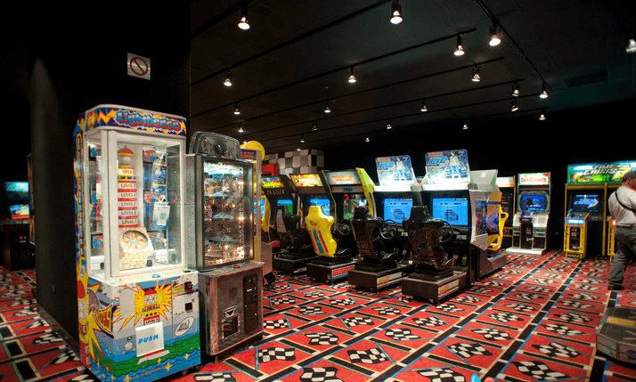 Arcade at The Bellagio na Strip em Las Vegas