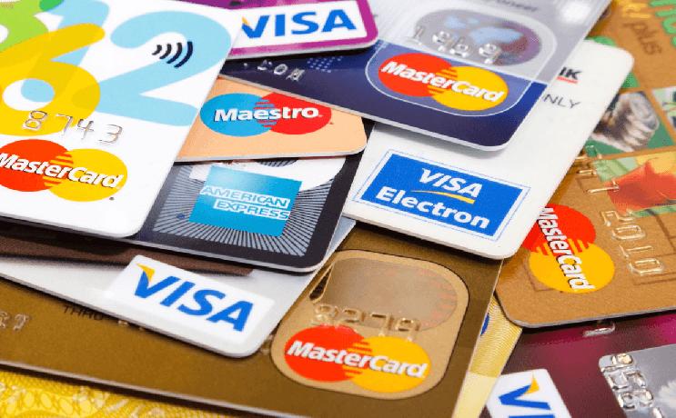 Cartões de crédito em Las Vegas