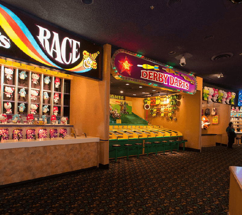 Midway At Circus Circus na Strip em Las Vegas