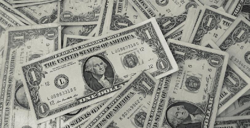 Trocados e moedas em Las Vegas