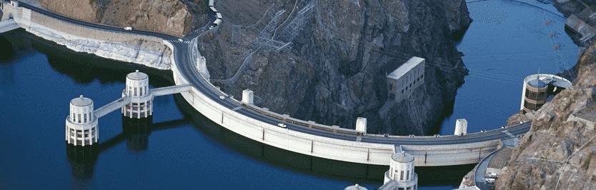 10 destaques do Lago Mead, Hoover Dam e Laughlin em Las Vegas: Represa Hoover Dam em Las Vegas