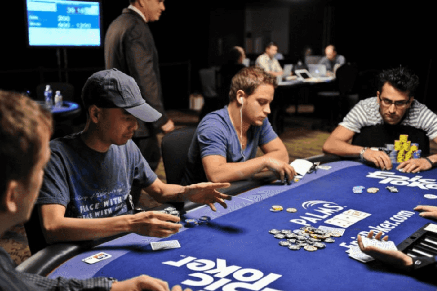 Horários das aulas de jogos em Las Vegas