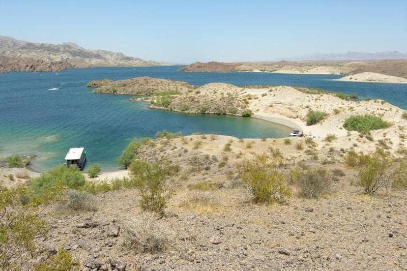 10 destaques do Lago Mead, Hoover Dam e Laughlin em Las Vegas: Lago Mohave em Las Vegas