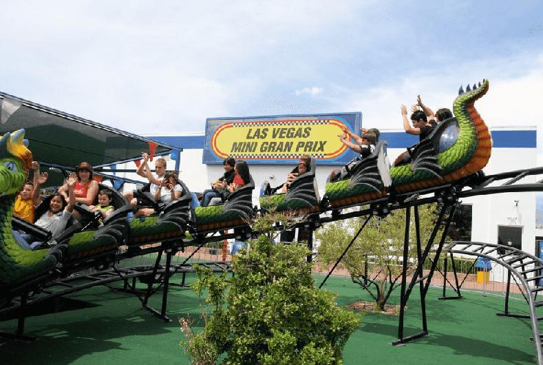 Las Vegas Mini Gran Prix na Strip em Las Vegas
