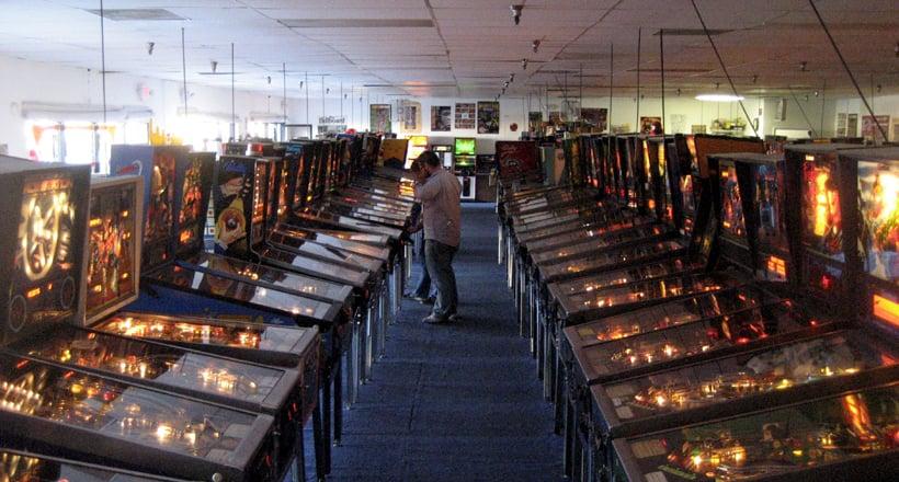Pinball Hall of Fame na Strip em Las Vegas