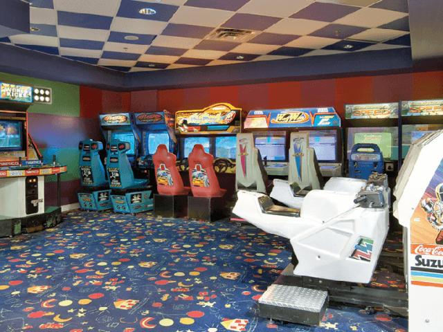 10 jogos de Arcade na Strip em Las Vegas