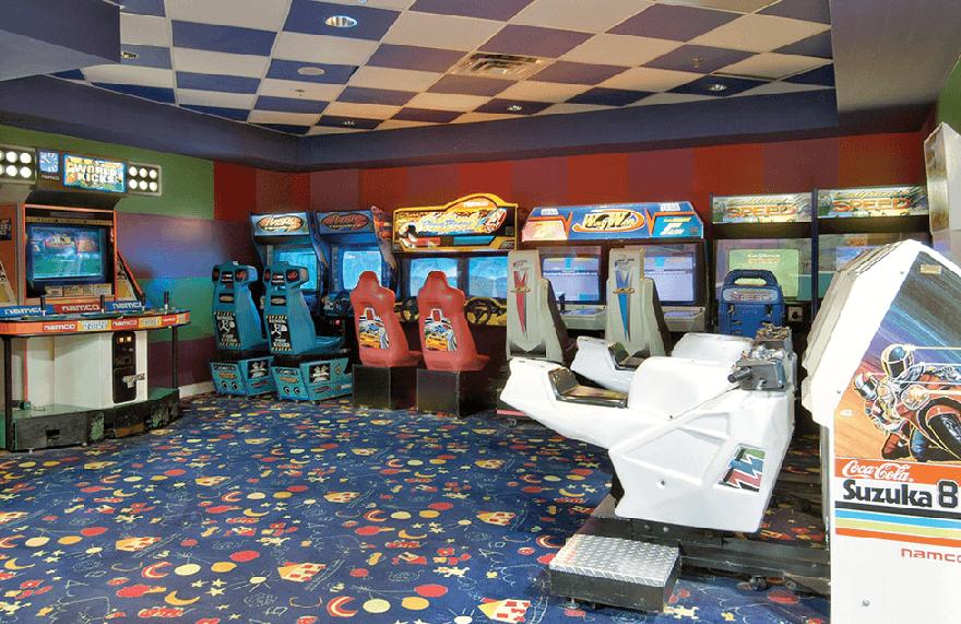 Time-Out Arcade na Strip na Strip em Las Vegas