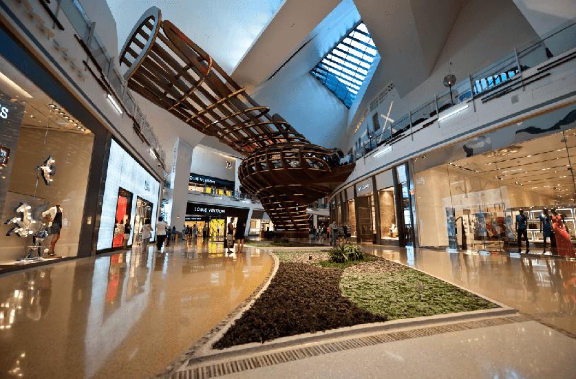 Shopping Crystals CityCenter em Las Vegas