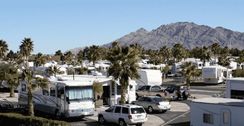 Estacionamentos para trailers em Las Vegas