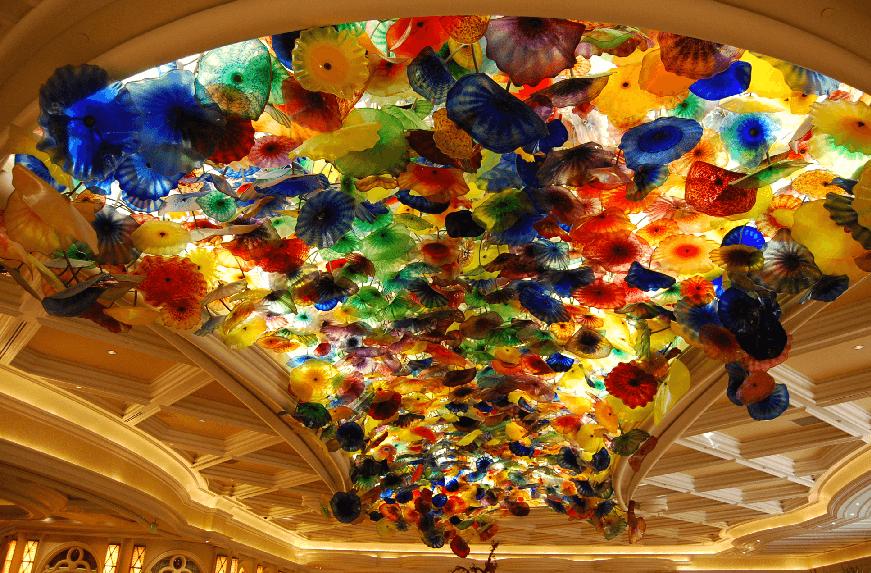 Maior escultura de vidro